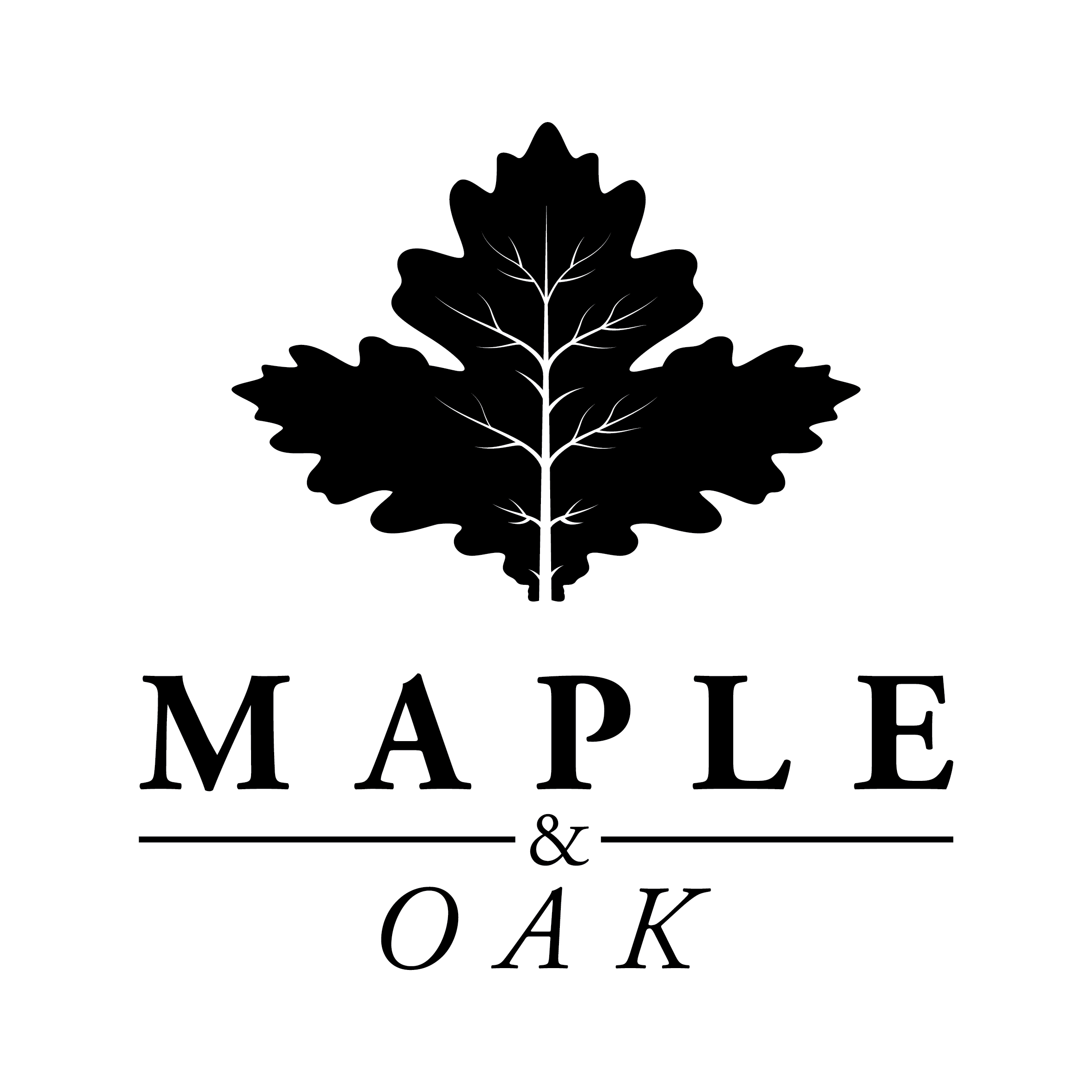 Maple & Oak Logo Terpilih